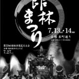 【7月上旬~中旬開催版】群馬県内の花火大会・夏祭りをご紹介