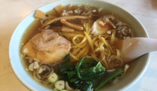香珍|モチモチ手打ちの麺が絶品の老舗ラーメン